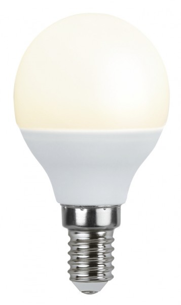 LED Kugellampe - P45 - 4,8W - warmweiss 3000K - E14 - 440lm - gefrostet