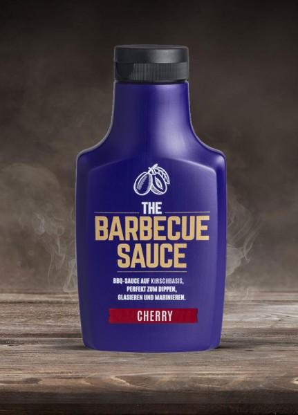 THE BARBECUE SAUCE - CHERRY - auf Kirschbasis - 390g Flasche