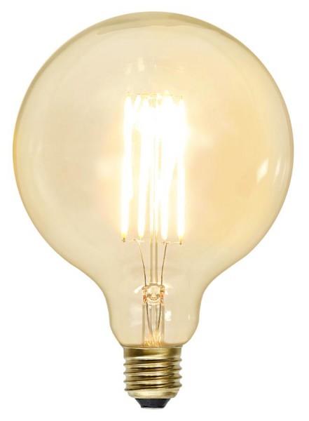 LED GLOBE FILA GLOW G125 - E27 - 3,6W - warmweiss 2100K - 320lm - klar - dimmbar