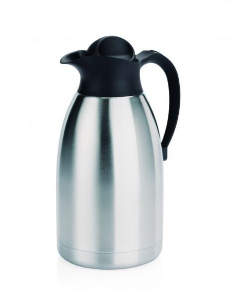 Thermoskanne Isolierkanne 2 Liter Edelstahl