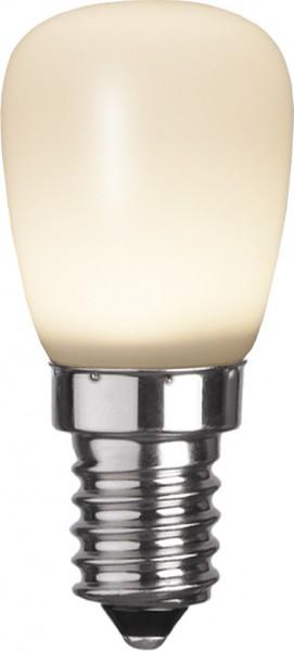 LED Leuchtmittel Kolbenlampe T26 - E14 - 2W - warmweiss 3000K - 160lm