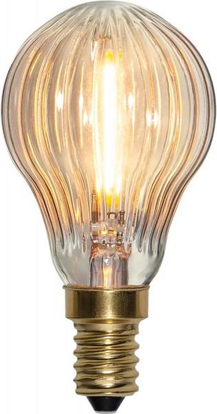 LED Leuchtmittel FILA GLOW P45 - E27 - 0,8W - warmweiss 2200K - 50lm - dimmbar