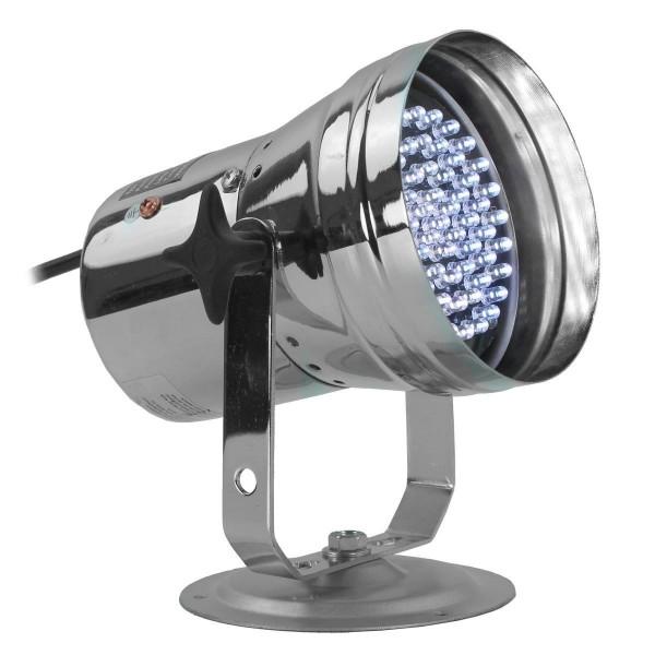 LED Pinspot Punktstrahler mit Halogenlampe silber 6V 30W kaltweiss