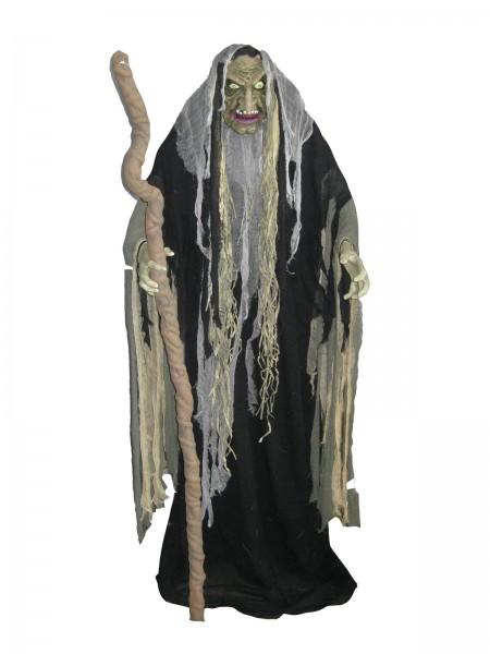 Hellxunar - der Höllenfürst - bewegte Halloween Figur - 153cm zum Stellen - LED Effekte & Geräusche