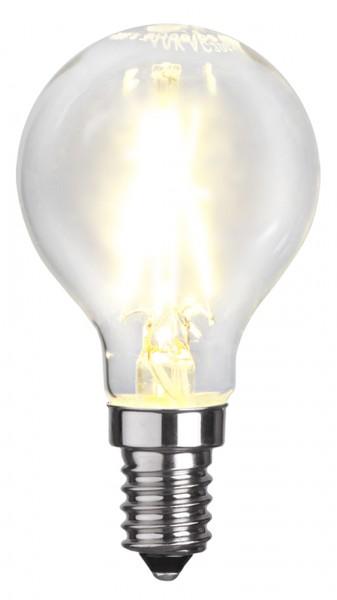 LED Tropfenlampe FILA P45 - E14 - 2W - warmweiss 2700K - 250lm - klar