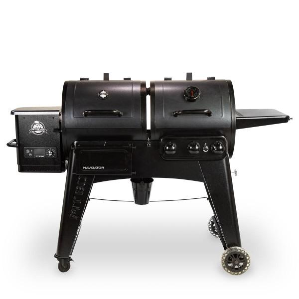 PIT BOSS Combo Grill - Pellet + Gas 'NAVIGATOR COMBO' PB1230CN.