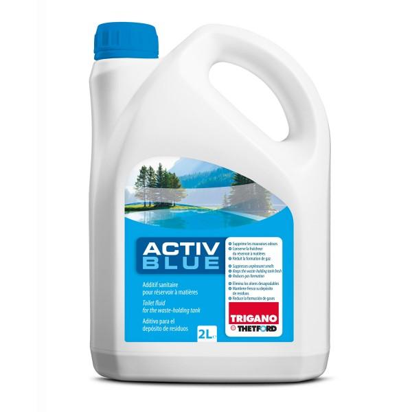 TRIGANO by THETFORD ACTIVE BLUE Sanitärzusatz für Fäkalientank - 2000ml - gegen Geruch