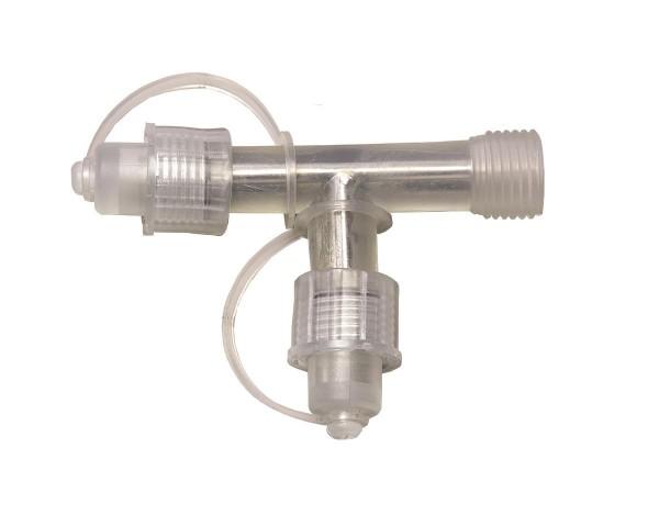 System LED White | Verteiler | koppelbar | exkl. Trafo | T-Verbinder