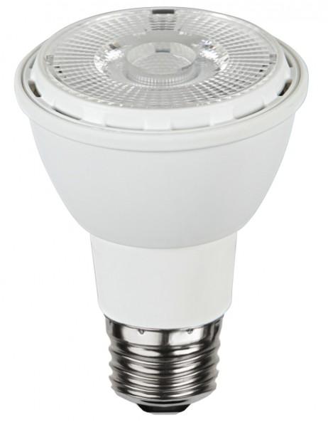 LED SPOT PAR20 - 230V - E27 - 30° - 6,2W - warmweiss 2700K - 450lm