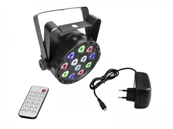 AKKU Mini PARty RGBW Spot - Farbe für Deine Party