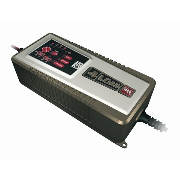 4LOAD Charge Box 7.0 - 230 AH Batterien - intelligentes Ladegerät - Prozessorgesteuert 12/24V