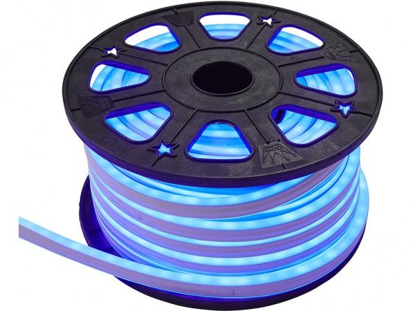 LED-NEON-Lichtschlauch | Zweiseitig | Outdoor | 1800 LED | 30m | Blau
