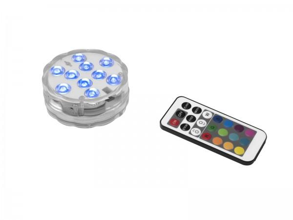 LED Stimmungslicht mit Farbwechsel und Fernbedienung - RGB - Batteriebetrieb - wasserfest