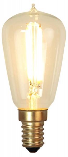LED Leuchtmittel GLOW - ST38 - E14 - 1,7W - warmweiss 2200K - 120lm - dimmbar