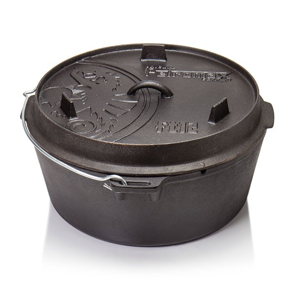 Petromax Dutch Oven ft12-t planem Boden