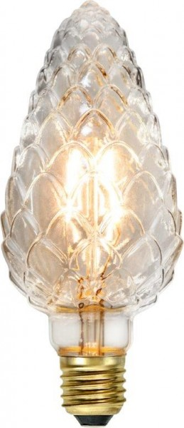LED Kerzenlampe DECOLED - E27 - 2,3W - ultra-warmweiss 2200K - 150lm - dimmbar