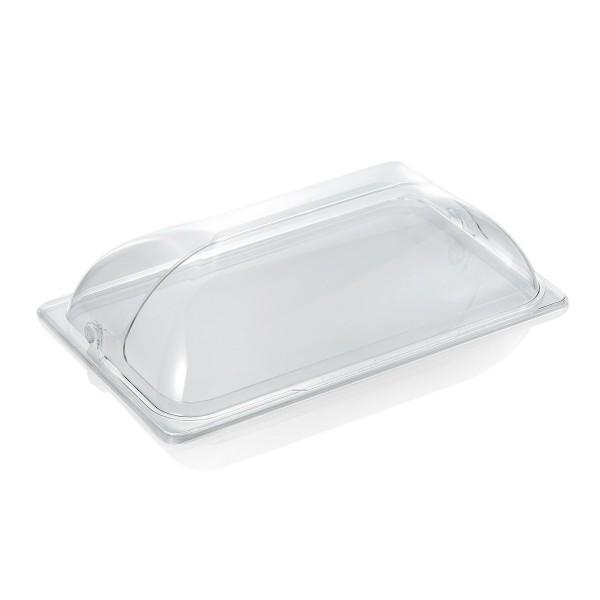 GN Abdeckhaube lange Seite offen - für GN Behälter 1/1 - einseitiger Rolldeckel