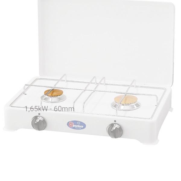 PARKER Brennerdeckelauflage für Gaskocher (für Hauptbrenner 1,65kW) - 60mm - Messing