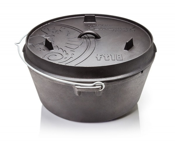Petromax Dutch Oven ft18-t planem Boden