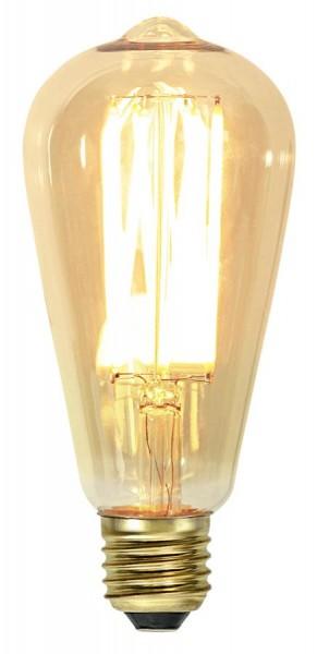 LED DEKO Leuchtmittel VINTAGE ST64 - E27 - 3,7W - UWW 1800K - 240lm - dimmbar