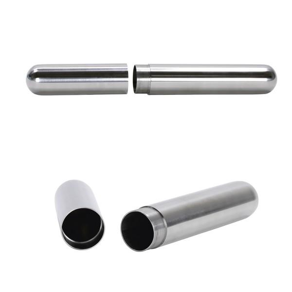 Tresor TUBE - Edelstahl - wasserdicht - 165 x 20mm - rostfrei