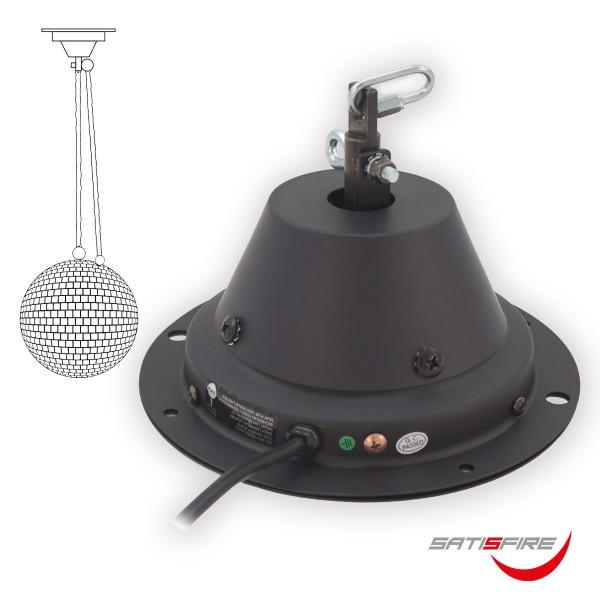 Spiegelkugel Motor Discokugel bis 50cm -10kg - DMX Drehmotor für Diskokugel