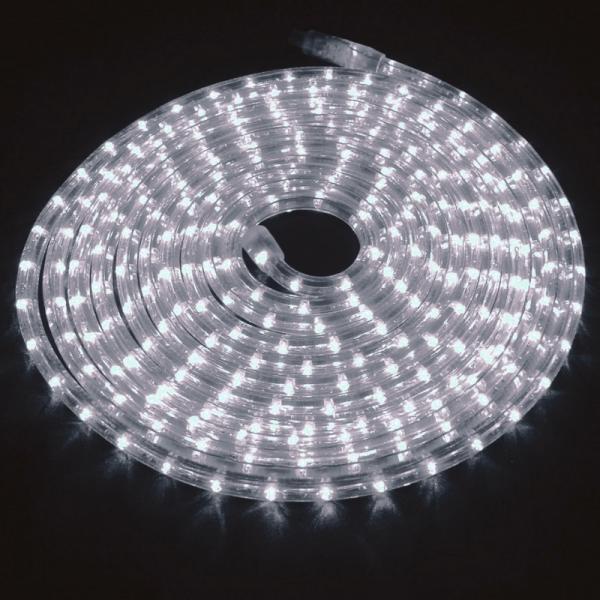 RUBBERLIGHT LED Lichtschlauch - Outdoor - RL1 - 324 LED - 9,00m - anschlussfertig - 6400K - weiß
