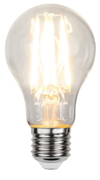 LED Tropfenlampe FILA A60 - E27 - 7,5W - WW 2700K - 1000lm - klar