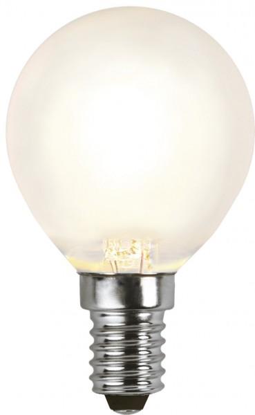 LED Tropfenlampe FILA P45 - E27 - 4W - WW 2700K - 350lm - gefrostet - dimmbar