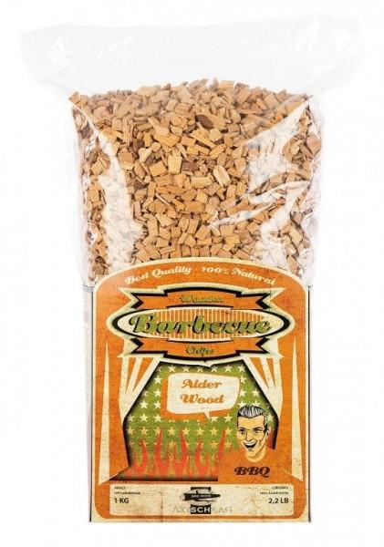Axtschlag Erle Räucher Chips 1 kg