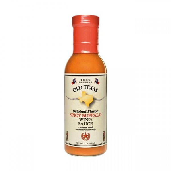 Old Texas Spicy Buffalo Wing Sauce 350ml würzige Marinade