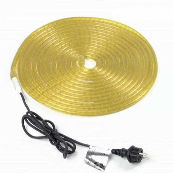 RUBBERLIGHT Lichtschlauch - Outdoor - RL1 - 324 Lampen - 9,00m - anschlussfertig - gelb