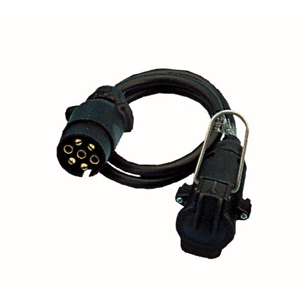 7-pol KFZ Verlängerungskabel 280cm - 7pol Stecker auf 7pol Kupplung