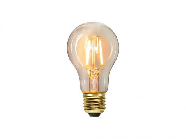 Leuchtmittel   LED   Filament   →6cm x ↑11cm   1,6W   E27   2100K   160 Lumen   80 Ra