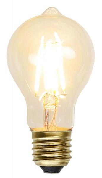 LED Leuchtmittel GLOW - TA60 - E27 - 1,3W - warmweiss 2100K - 140lm - dimmbar