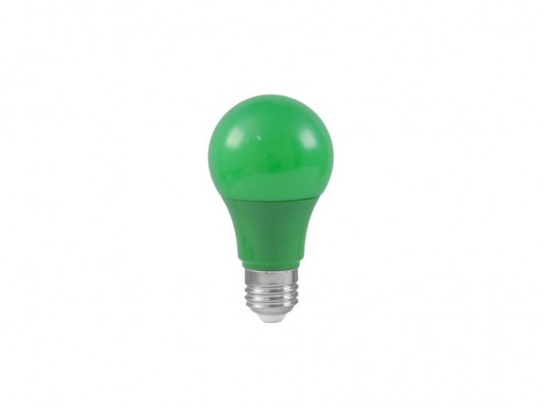 LED-Leuchtmittel - Omnilux A60 - E27 - 3W - Grün