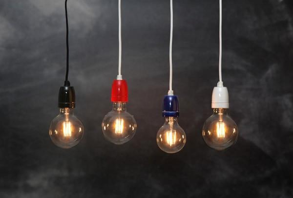 LED GLOBE FILA GLOW G80 - E27 - 2,3W - warmweiss 2100K - 230lm - klar