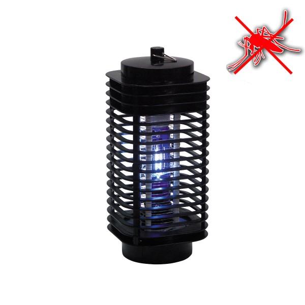 Insektenvernichter mit UV Lampe - wirkt zuverlässig in großem Umkreis - inkl. 2W Lampe