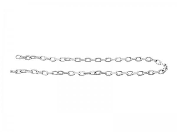 Knotenkette für Spiegelkugeln - Montagematerial - Sicherungskette - Stahlkette - Rundstahlkette
