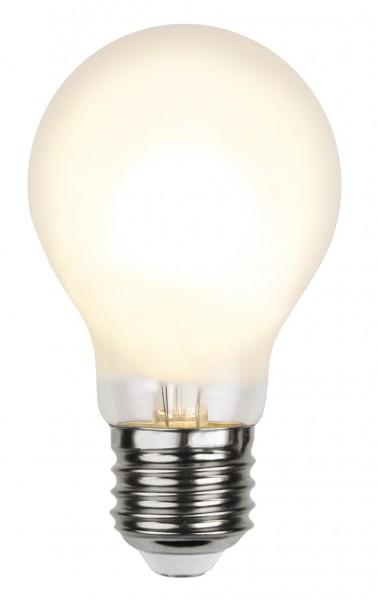 LED Tropfenlampe FILA A60 - E27 - 4,8W - WW 2700K - 500lm - gefrostet
