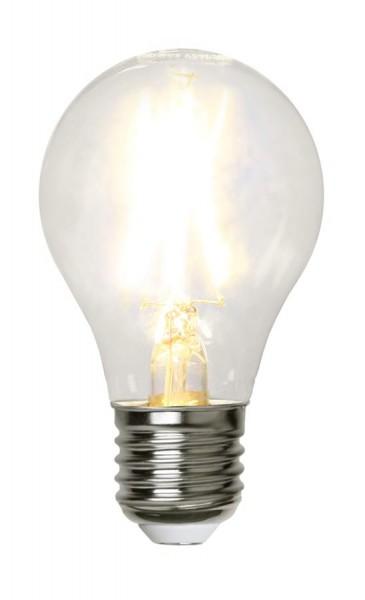 LED Tropfenlampe FILA A60 - E27 - 2W - warmweiss 2700K - 220lm - klar