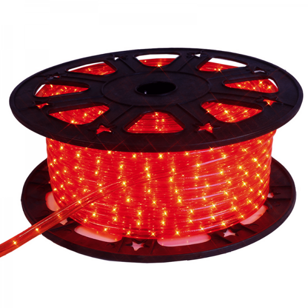 Lichtschlauch ROPELIGHT LED | Outdoor | 1620 LED | 45,00m | Rot