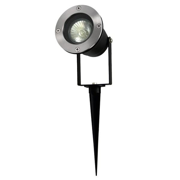 Gartenspot YUYAO für GU10 Leuchtmittel - Erdspieß - max. 7W - IP65 - 1,5m Kabel + Stecker