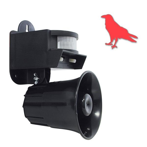 Vogelschreck - Bewegungsmelder - Imitation von Greifvögeln