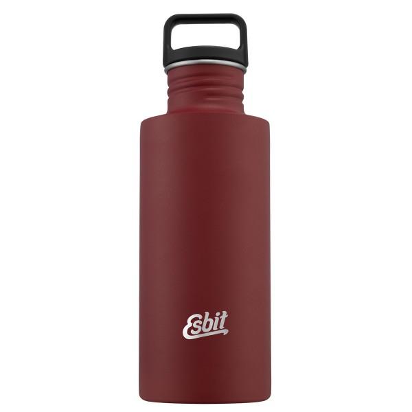 ESBIT SCULPTOR Edelstahl Trinkflasche, 0.75L, Burgundy Red