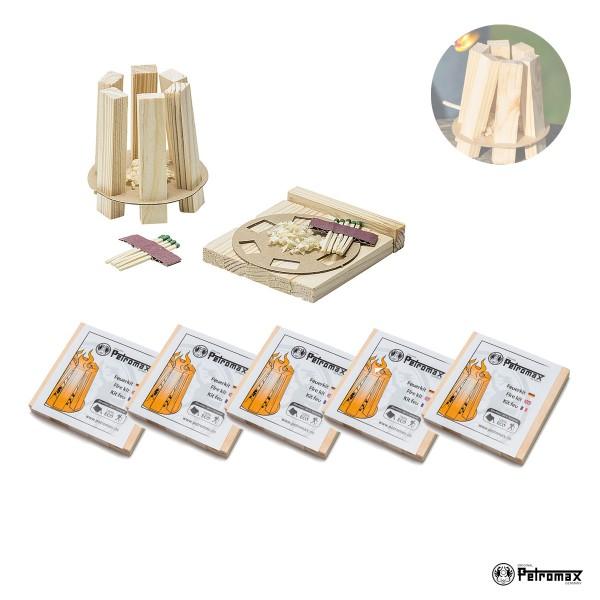 Petromax 5er Set Feuerkit kit - Praktische Anzündhilfen