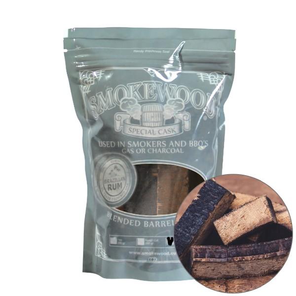 Smokewood Brazilian Rum Mini Blocks - Räucherholz aus alten Rumfässern