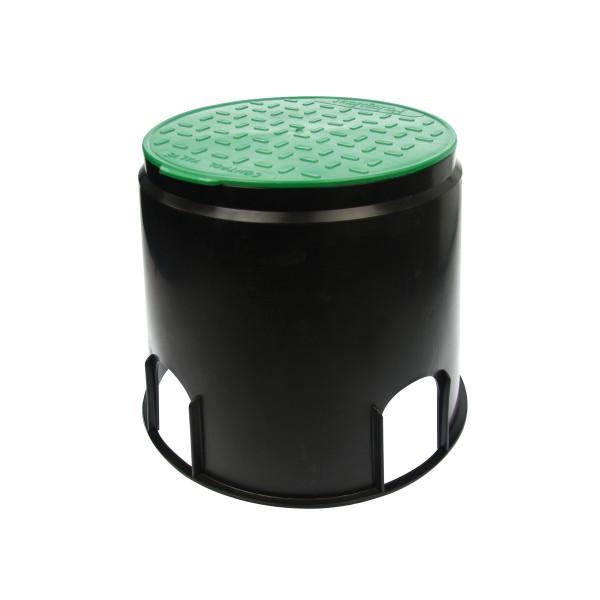 Sicherheits Bodeneinbaudose - IP44 - mit trittfestem Deckel - ø250mm H: 255mm