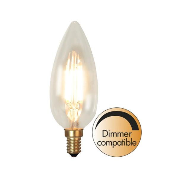 LED Kerzenlampe SOFT GLOW C45 - 3,5W - E14 - WW 2200K - 260lm - dimmbar