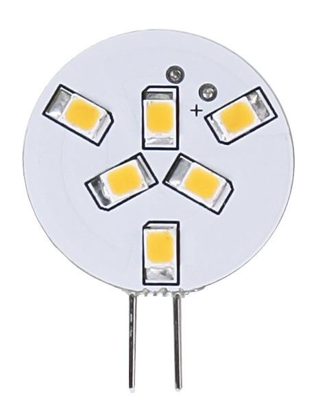 LED Leuchtmittel HALO-LED - 12V - 1W - G4 - warmweiss 2700K - 90lm